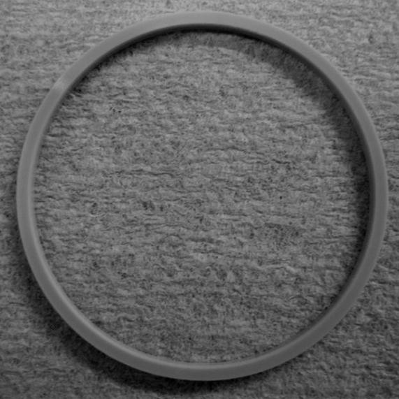 833 - Ring, Crystals Spacing